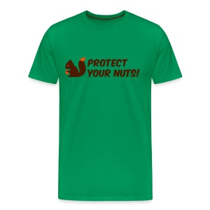 Protect your Nuts - Männer Premium T-Shirt