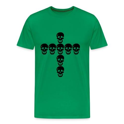 skulls cross - T-shirt Premium Homme