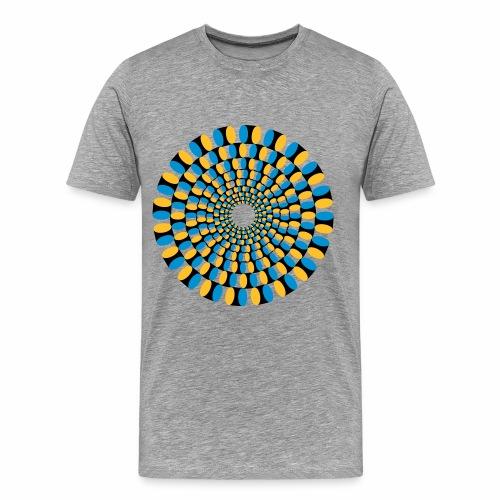Optische Täuschung - Männer Premium T-Shirt