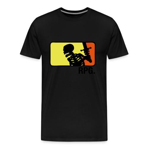 Purple RPG T-shirt - Premium T-skjorte for menn