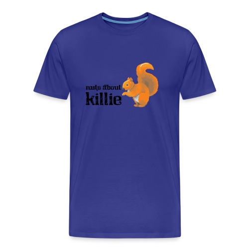 Nuts About Killie - Men's Premium T-Shirt