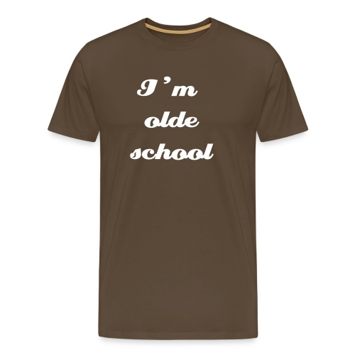 olde school - Men's Premium T-Shirt