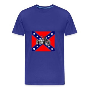 Bobber Flag rebel - T-shirt Premium Homme