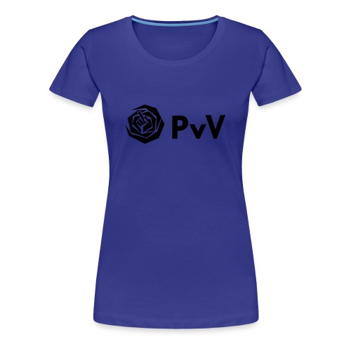 PvdA/PvV zwart - Vrouwen Premium T-shirt