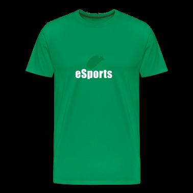 Moss green esports Men's T-Shirts