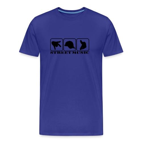 Koszulka Street music - Koszulka męska Premium