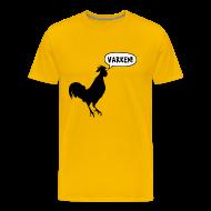 T-shirts ~ Mannen Premium T-shirt ~ Varken!