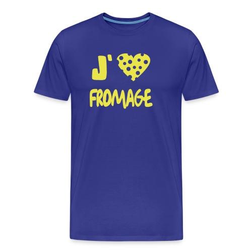 J'aime le fromage - T-shirt Premium Homme
