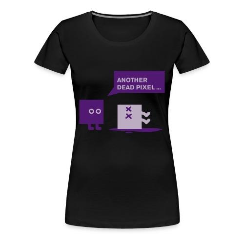 Dead Pixel - Vrouwen Premium T-shirt