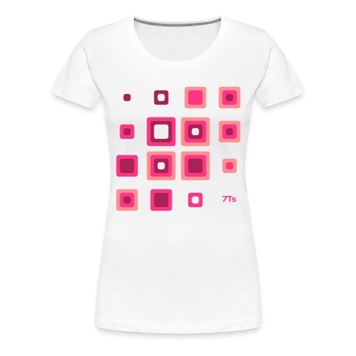 Future Retro PINK from 7Ts - Women's Premium T-Shirt