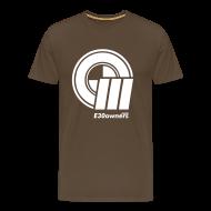 T-Shirts ~ Men's Premium T-Shirt ~ Logo & Domain