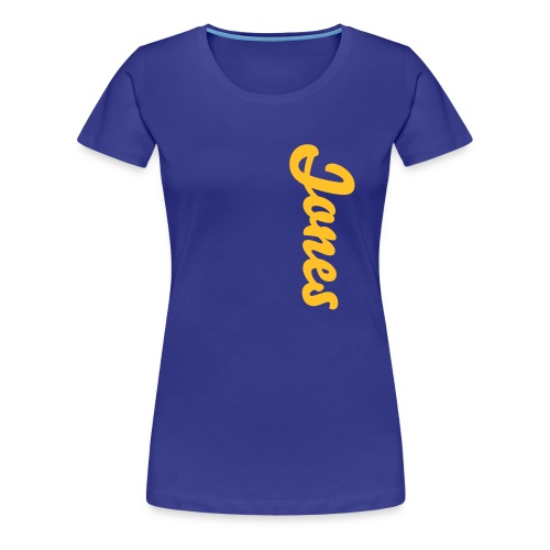Jones Original - Women's Premium T-Shirt