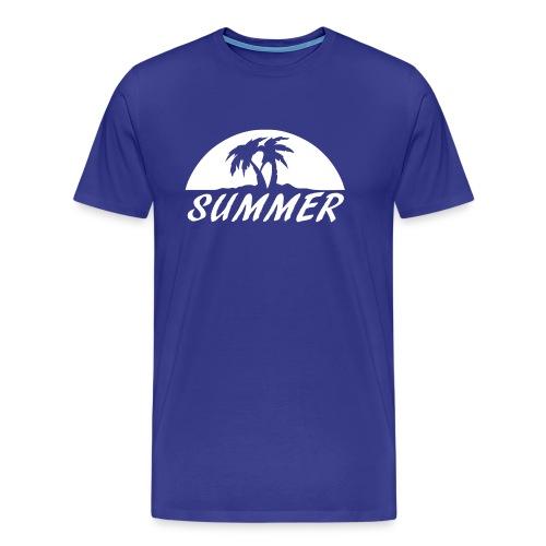 Summer t-shirt - Premium-T-shirt herr