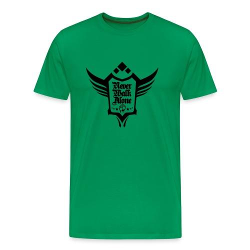Neverwalkalone3 T-Shirt khaki - Männer Premium T-Shirt
