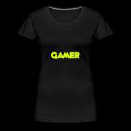 T-Shirts ~ Women's Premium T-Shirt ~ Female Gamer T-Shirt
