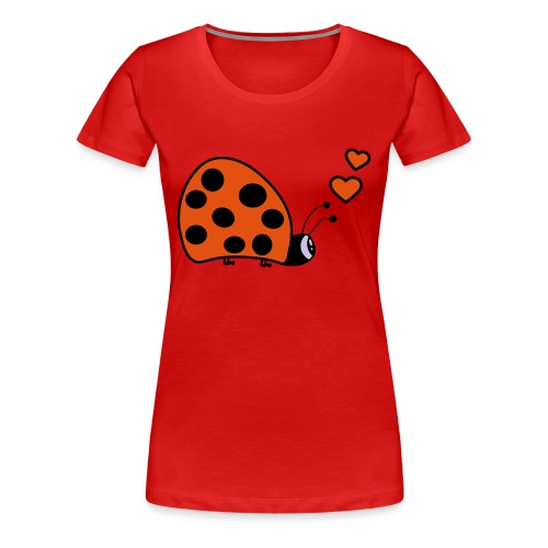 Girls love bug - Women's Premium T-Shirt