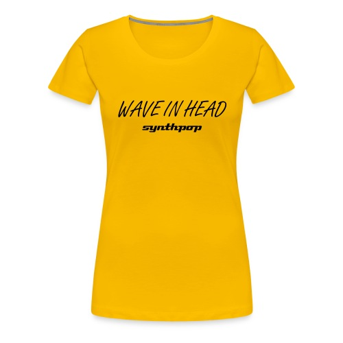 Girlie WAVE hellrosa - Frauen Premium T-Shirt