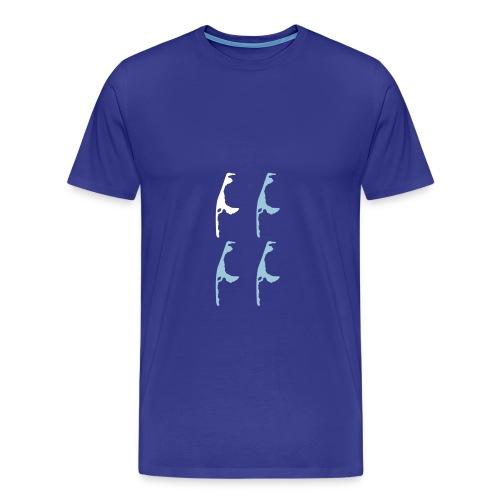 Sylt-Hoch 4 - Männer Premium T-Shirt