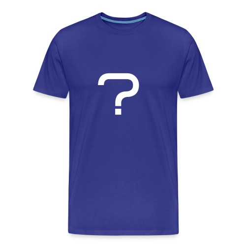 Men - Questionmark - Men's Premium T-Shirt