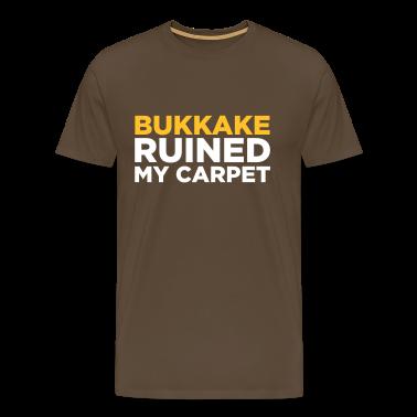 Noble brown Bukkake Ruined my Carpet 2 (2c) Men's T-Shirts