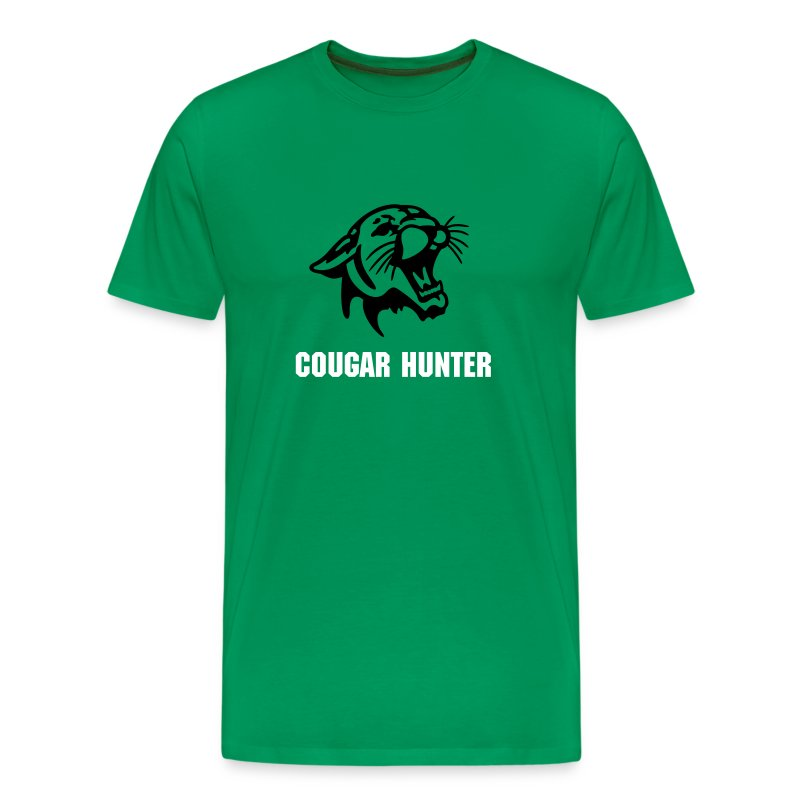 Cougar Hunter - Men's Premium T-Shirt