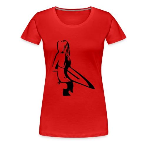 Cami Surfer Girl para Mujer - Camiseta premium mujer
