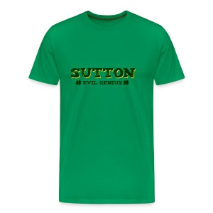 Sutton - Evil Genius - Men's Premium T-Shirt