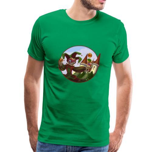 T-Shirt Carré du Fou (couleur au choix) - T-shirt Premium Homme