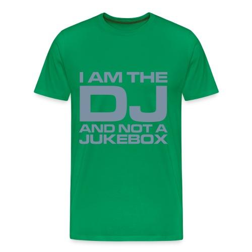 BAS T-shirt - (OBS.) Baksidan lyser i mörker - Premium-T-shirt herr
