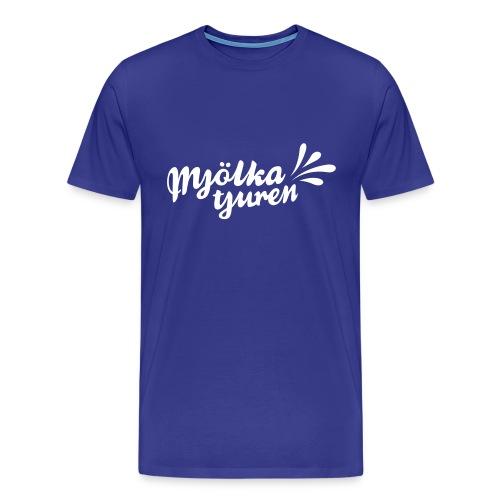 MJÖLKA TJUREN - Premium-T-shirt herr