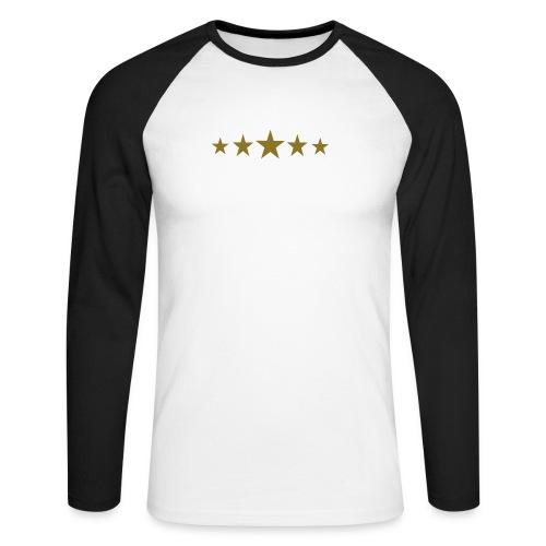 t-shirt manica lunga uomo - Maglia da baseball a manica lunga da uomo