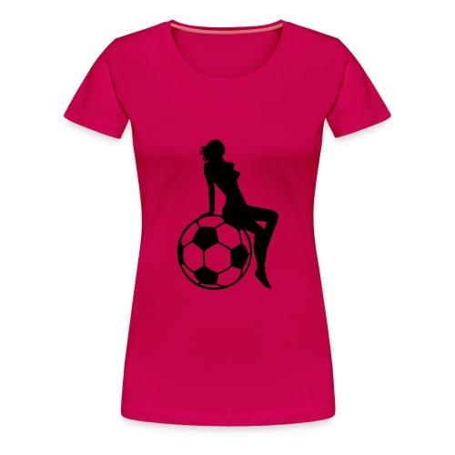 Tee shirt Foot femme - T-shirt Premium Femme