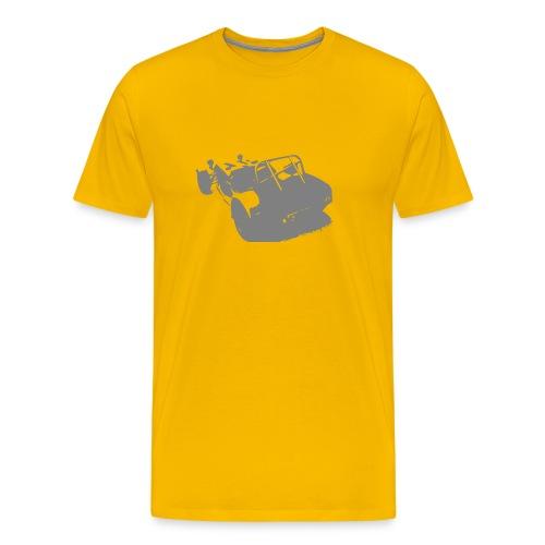 Caterham Back - Men's Premium T-Shirt
