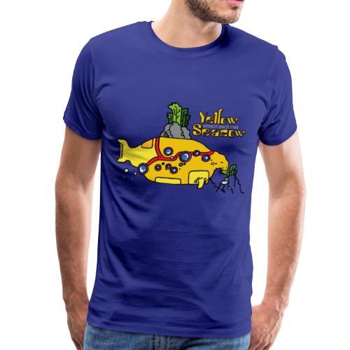 Friedem. Zschiedrich Yellow Seacow - Männer Premium T-Shirt