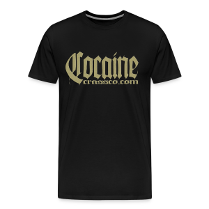 cocaine - Männer Premium T-Shirt