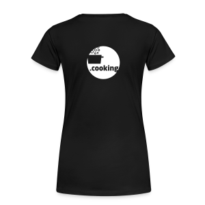dot.cooking // girlie-shirt (backprint) - Frauen Premium T-Shirt