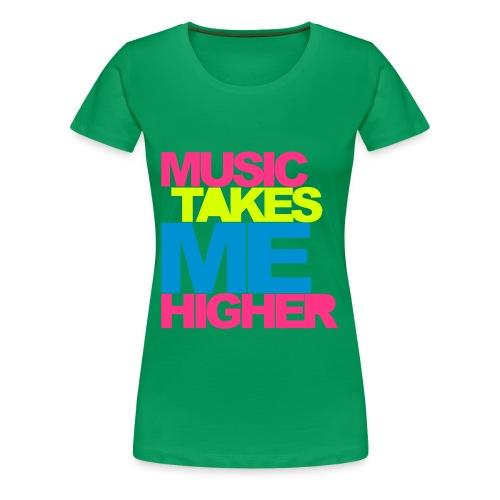 Music is Life  - Camiseta premium mujer