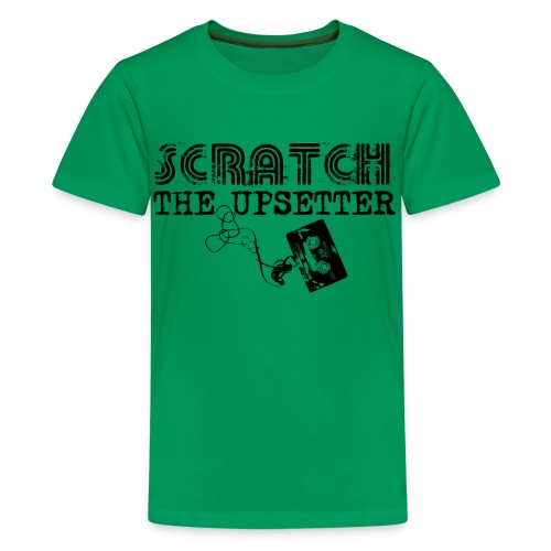 Scratch The Upsetter - Teenage Premium T-Shirt