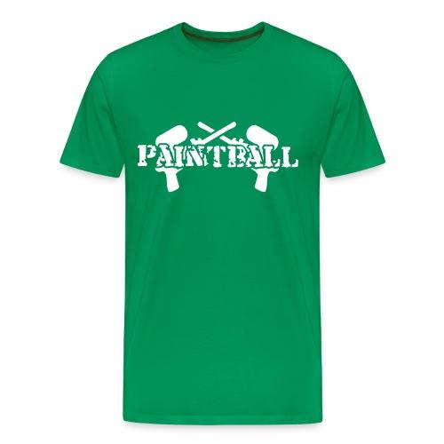 paintball t-shirt herr - Premium-T-shirt herr