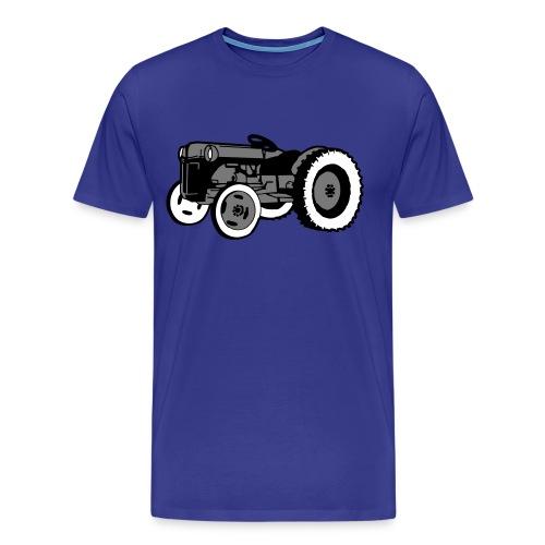 Gråtass herreskjorte - Premium T-skjorte for menn