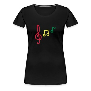 Music Gonna Teach - Women's Premium T-Shirt