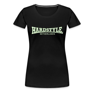 Hardstyle Netherlands - Glow in the dark - Women's Premium T-Shirt