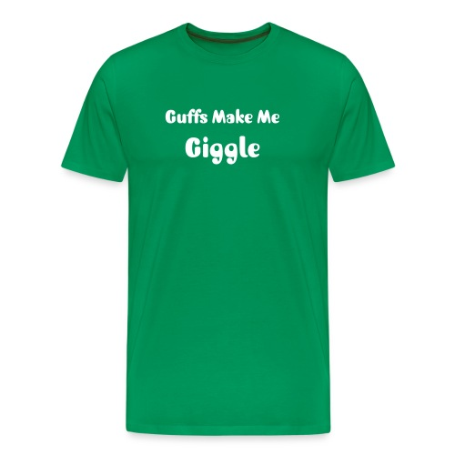 guffs make me giggle - Men's Premium T-Shirt