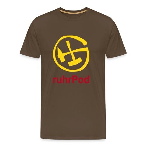 Geocaching ruhrPod Shirt - Männer Premium T-Shirt