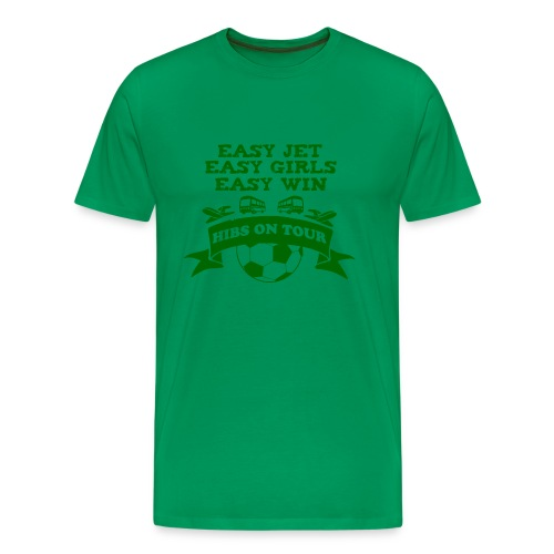 Easy Jet, Easy Girls, Easy Win - Men's Premium T-Shirt