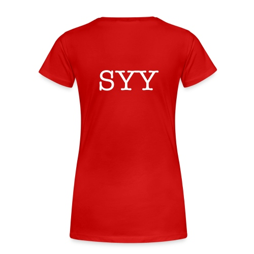 Blone SYY (BR) - Women's Premium T-Shirt