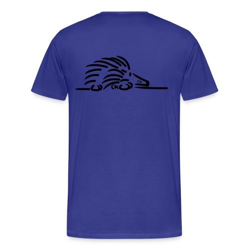 T-shirt double hérisson - T-shirt Premium Homme