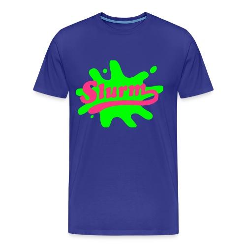 Camiseta Slurm - serie Futurama - Camiseta premium hombre