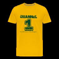 T-Shirts ~ Men's Premium T-Shirt ~ Channel 1 - Maxfield Ave