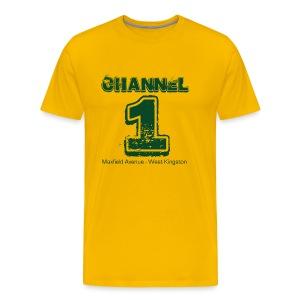 Channel 1 - Maxfield Ave - Men's Premium T-Shirt